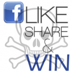 Like-share-win acties op Facebook