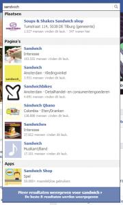 sandwich gewoon